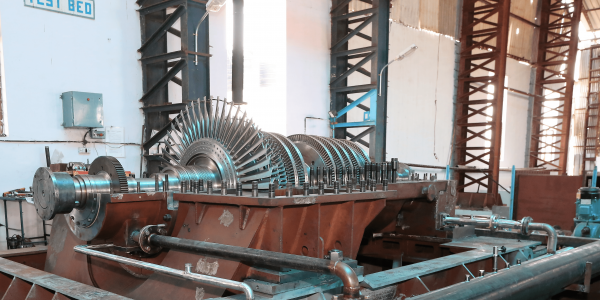 Steam turbine Trial Test Bed
